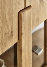 Obývací nábytek TIZIANO_detail provedení a zpracování předních ploch_obr. 4