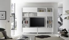 Obývací / media stěna TORINO_čelní pohled_obr. 1
