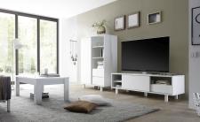 Obývací nábytek TORINO_Multikomoda_TV element_konf. stolek, umělohmotné nohy_obr. 3