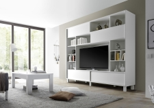Obývací / media stěna TORINO_šikmý pohled_obr. 45