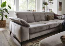 Sedací souprava TORONTO Lounge_sestava 2,5AL-LAR Maxi_v látce Velvet sand_detail_obr. 31