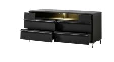 TV-lowboard TREND 10 D2 GG 34 + nohy 99 03 00 99_otevřený_obr. 13
