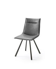 Jídelní židle VERONA_typ sedáku A 8 šedá