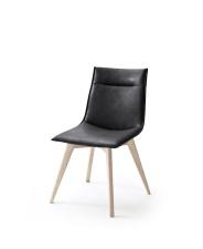 Jídelní židle VERONA_typ sedáku A 9 černá