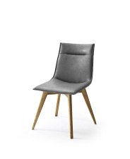 Jídelní židle VERONA_typ sedáku A 10 šedá