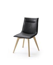 Jídelní židle VERONA_typ sedáku A 11 černá