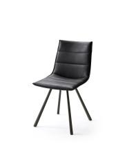 Jídelní židle VERONA_typ sedáku B 8 černá