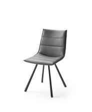 Jídelní židle VERONA_typ sedáku B 8 šedá