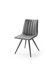 Jídelní židle VERONA_typ sedáku D 4 šedá