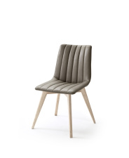 Jídelní židle VERONA_typ sedáku D 9 lanýž