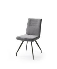 Jídelní židle VERONA_typ sedáku E 6 šedá