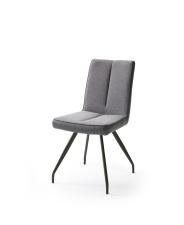 Jídelní židle VERONA_typ sedáku F 6 šedá