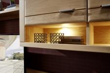 Obývací stěna WOODSTOCK_detail LED osvětlení_obr. 3